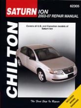 Saturn Ion (2003-07) Chilton Manual
