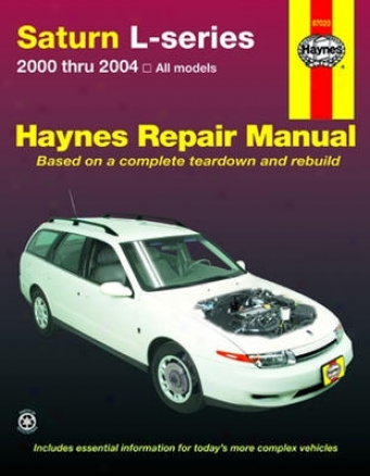 Saturn L-series Haynes Repair Manual (2000 - 2004)