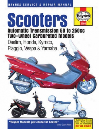 Scooters With Automatic Transmisssion (50cc - 250cc)