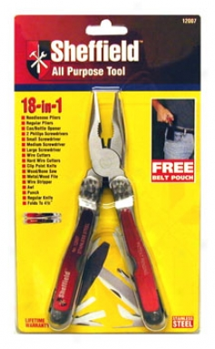 Sheffield 18-in-1 Super Whole Purpose Tool