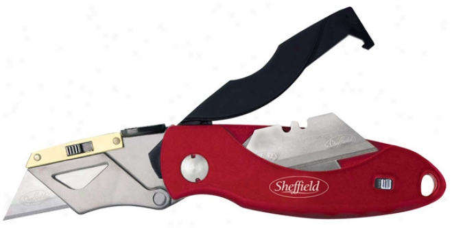 Sheffield Heavy Duty Lockback Utility Knife