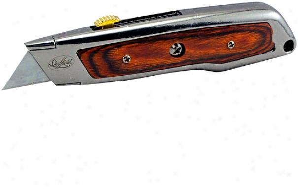 Sheffield Wood Handle Utility Knife