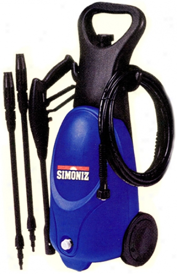 Simoniz 1750 Psi Pressure Washer