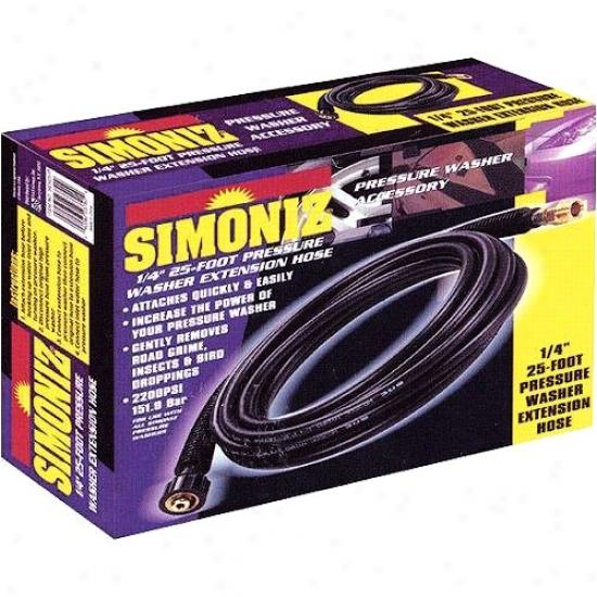 Simoniz 25' High Pressure Extension Hose