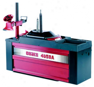 Single-stage Center-poat Tire Changer - Air Pwered