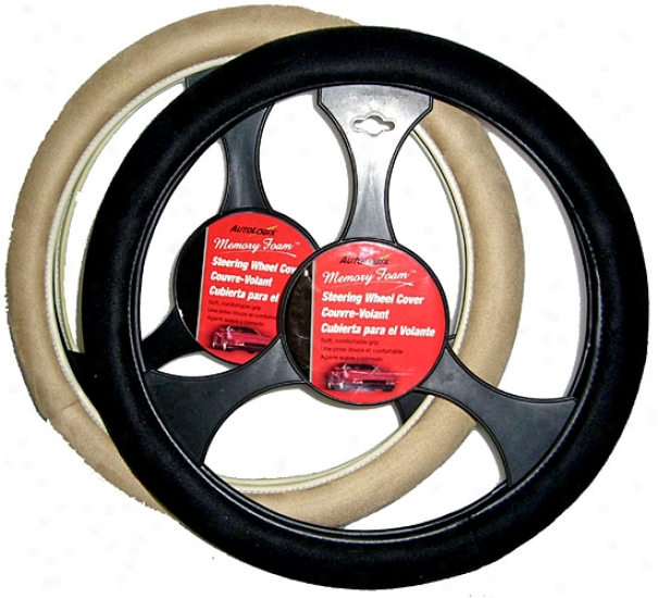 Soft Grip Memory Foam Steering Wheel Cover