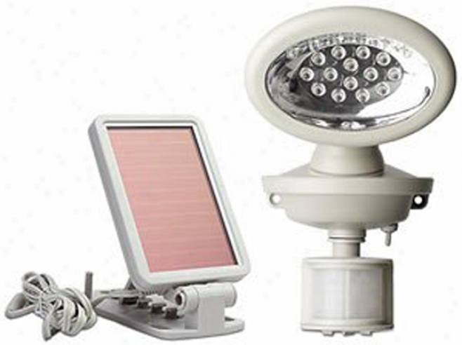 Solar-powered Motion-activated 14 Led Security Light