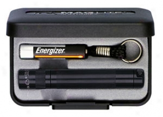 Solitaire? Aaa Flashlight - Gift Boxed, Black