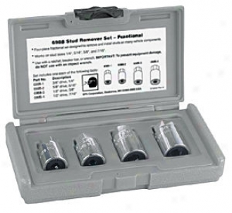 Stingee Fractional Stud Remover Set - 4 Pc.