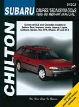 Subaru Coupes/sedans/wagons (1985-96) Chilton Manual