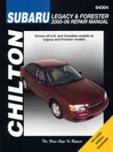Subaru Legacy/outback/baja/forester (2000-06) Chilton Manual