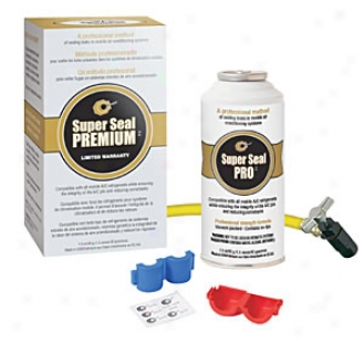 Super Seal Premium Pro A/c System Leak Repair Kit