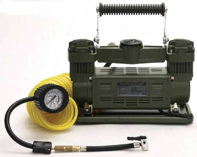 Superflow? Dual Cylinder Air Compressor