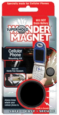 Superhold Wonder Magnet Cellular Phone Mounting Kit