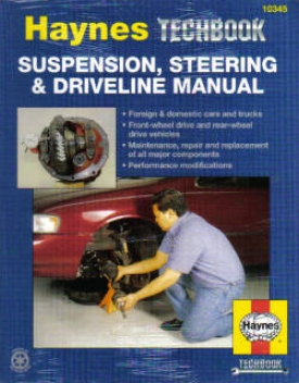 Suspension, Steering And Drivelime Manual