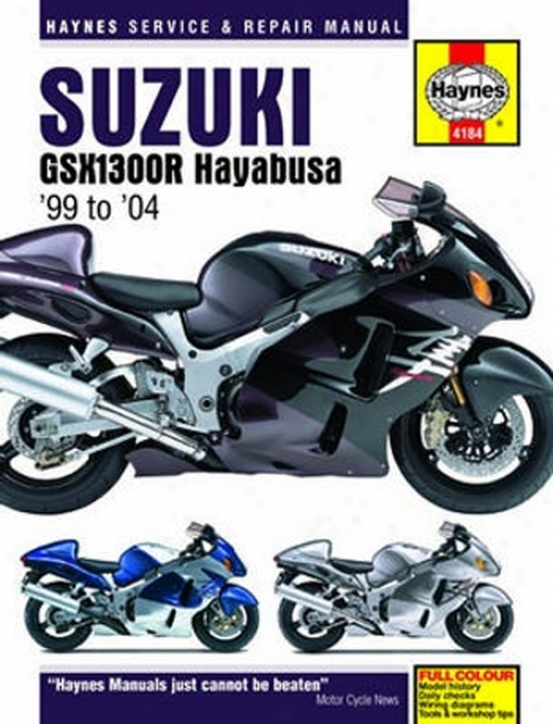 Suzuki Gsx1300r Hayabusa Haynes Repair Manual (1999 - 2004)