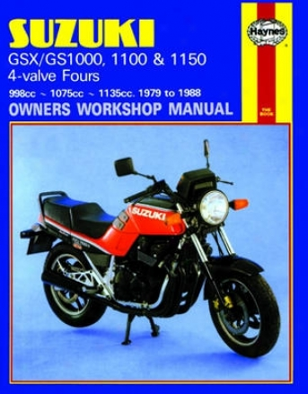 Suzuki Gsx/gs1000 Haynes Repair Manual (1979 - 1988)