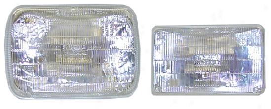 Sylvania Silverstar Halogen Sealed Beam Lights