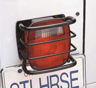 Tail Light Euroguard For Jeep Cj & Wrangler