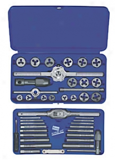 Tap And Die Set - Metric 3mm To 12mm, 41 Pc.