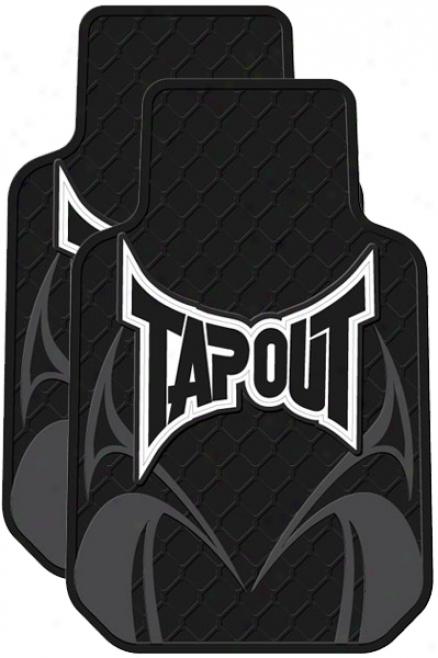 Tapout Rubber Floor Mats (pair)