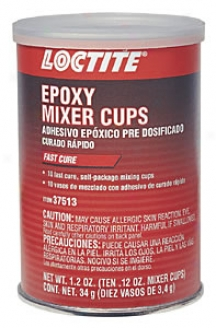 Ten .12oz Epoxy Mixer Cups Fast Cure