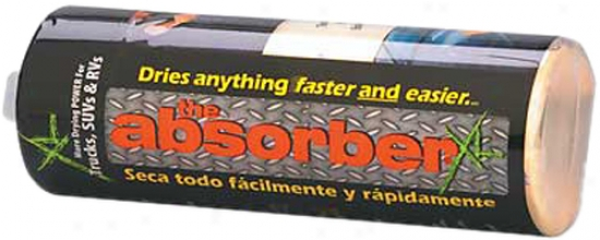 The Absorber Xl Synthetci Drying Chamois - 28'' X 19''