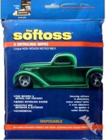 The Softoss - Microfiber Detailing Wipes