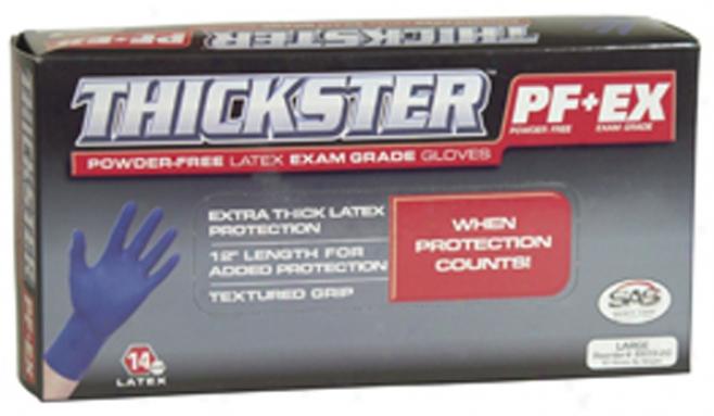 Thickster Medium Latex Gloves