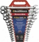 K-d 13pc. Fractional Gearwrench Reversible Combinatlon Ratcheting Wrench Set