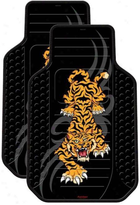 Tiger Tattoo Rubber Floor Mats (pair)