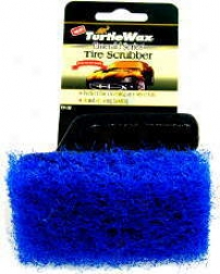 Tire Scrubber Wit Easy Grip Handle