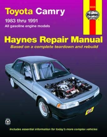 Toyota Camry Haynes Repair Manual (1983 - 1991)