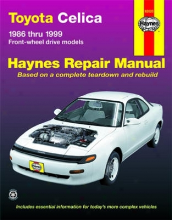 Toyota Celica Hayne Retrieve Manual (1986-1999)