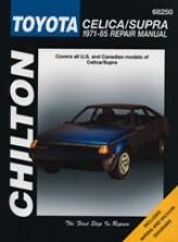 Toyota Celica/supra (1971-85) ChiltonM anual