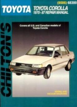 Toyota Corolla (1970-87) Chilton Manual