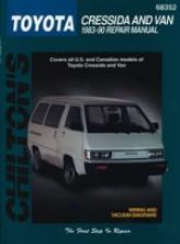 Toyota Cressida/van (1983-90) Chilton Manual