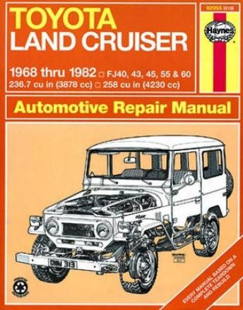 Toyota Land Cruiser Haynes Repair Manual (1968-1982)