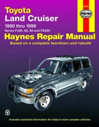 Toyota Land Cruiser Haynes Repair Manual (1980-1996)