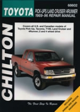 Toyota Pick-ups/land Cruiser/4runnrr (1989-96) Chilton Of the hand