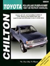 Toyota Pick-ups/ladn Cruiser/4runner (1997-00) Chilton Manual