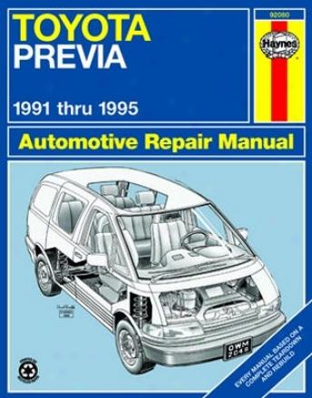 Toyota Previa Haynes Repair Manual (1991 - 1995)