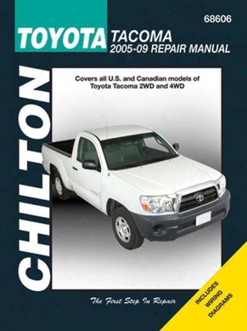 Toyota Tacoma (2005-2009) Chilton Of the hand