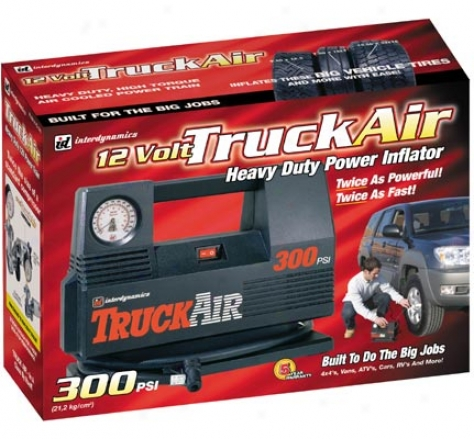 Truck Air 12 Volt Heavy Duty Air Compressor