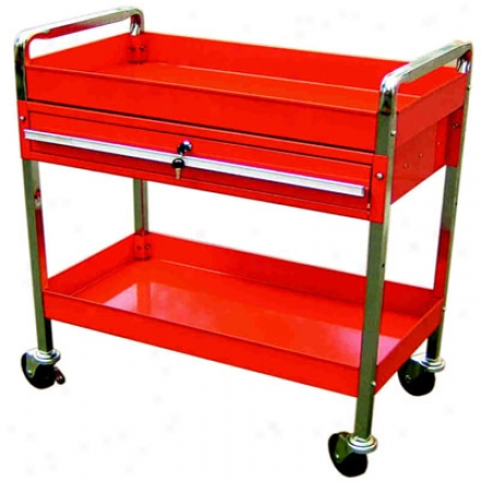 Tubular Frame Locking Tool Cart