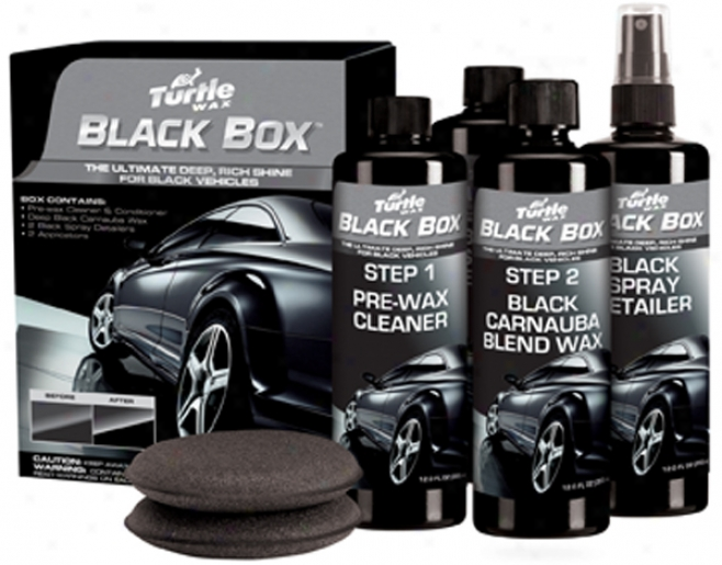 Turtle Wax? Black Box? Black Car Wax Kit