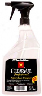 Turtle Wax Clearvue Professional Glass Cleeaner (20 Oz.)