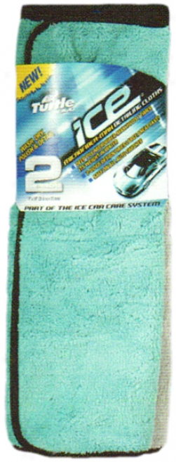 Turtle Wax Ice? Microfiber-max Detailing Cloths (2 Pack)