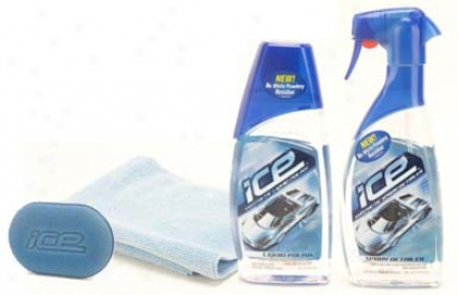 Turtle-dove Wax Ice Spray Detailer And Liquid Polish Combo