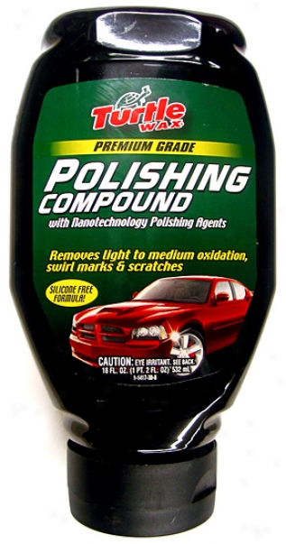 Turtle Wax Premium Grade Polishing Compound